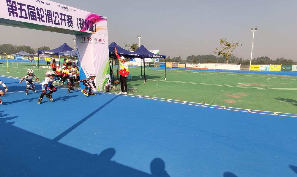 第五届河南省轮滑公开赛揭开战幕,斯坦利、威德VGUARD为运动员加油!