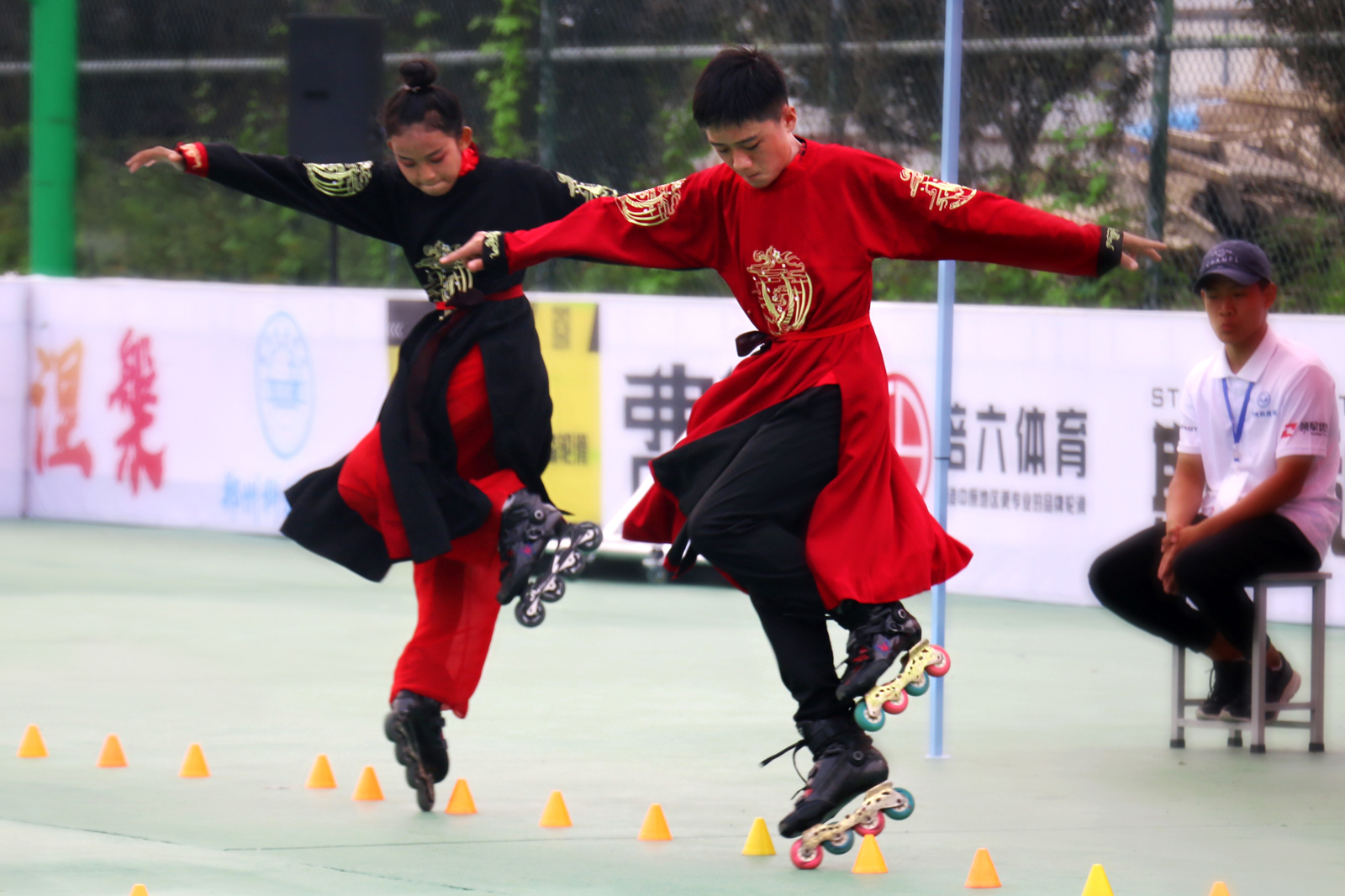 第十一届河南省轮滑锦标赛自由式轮滑比赛