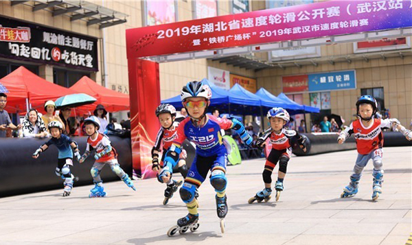 世界冠军廖彦胜现场助阵!湖北省速度轮滑公开赛武汉站开幕 | 斯坦利体育