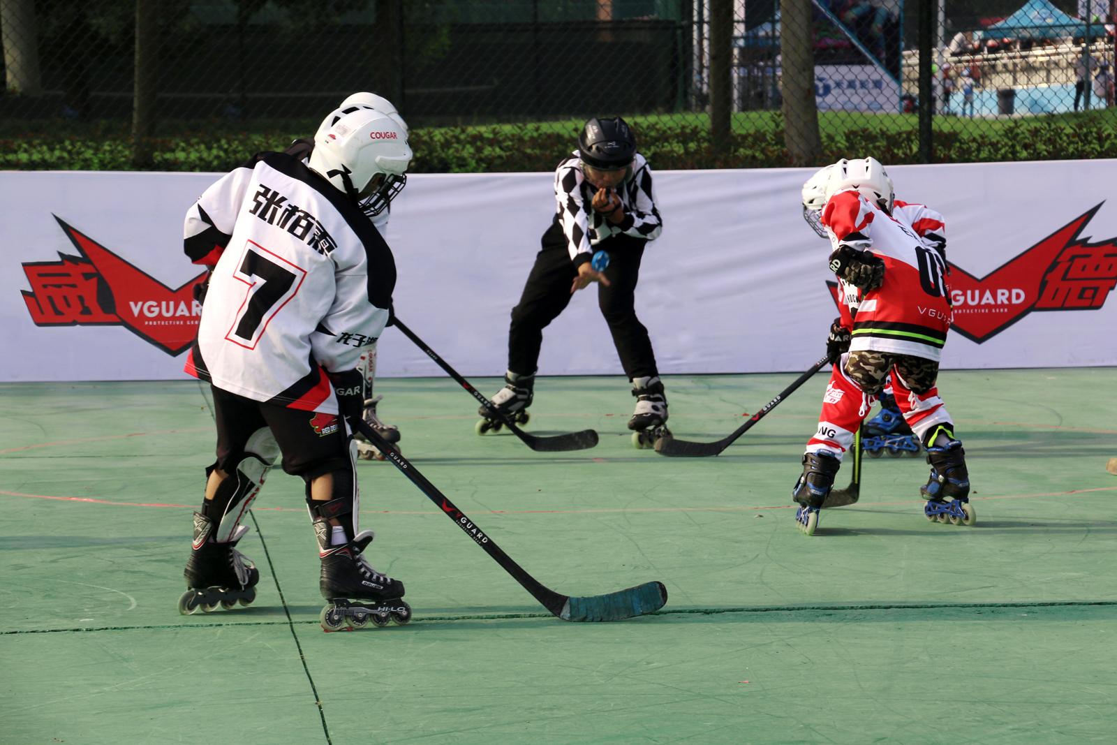 第十一届河南省轮滑锦标赛轮滑球比赛