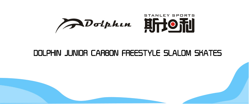 Dolphin junior carbon freestye slalom skates