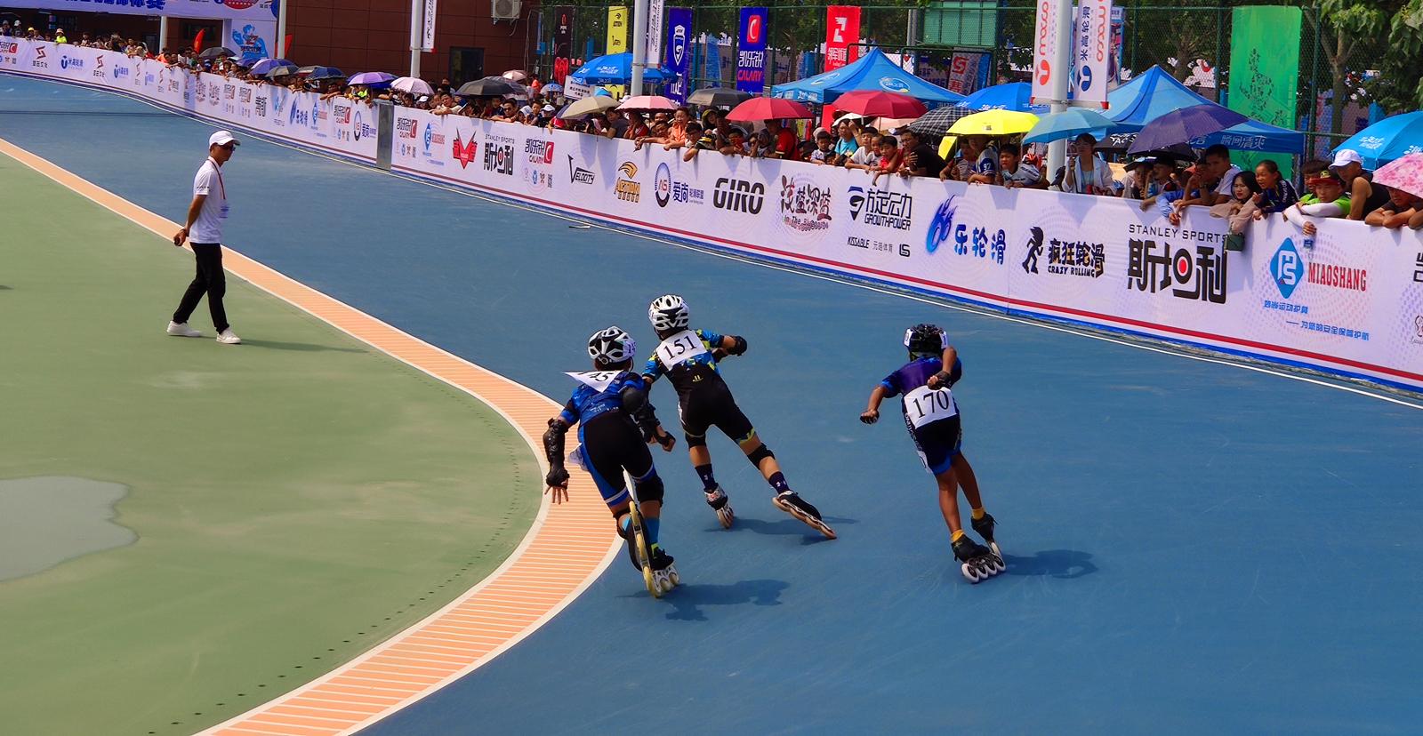 第十一届河南省轮滑锦标赛速滑比赛