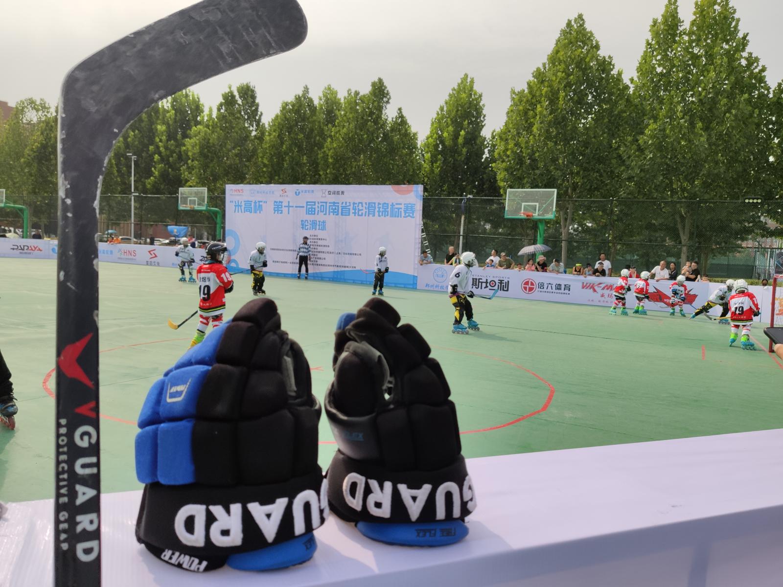 VGUARD威德冰球护具和球杆